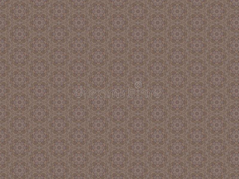 Abstrakt bakgrund för Matt sängark med den geometriska openwork modellen arkivfoton