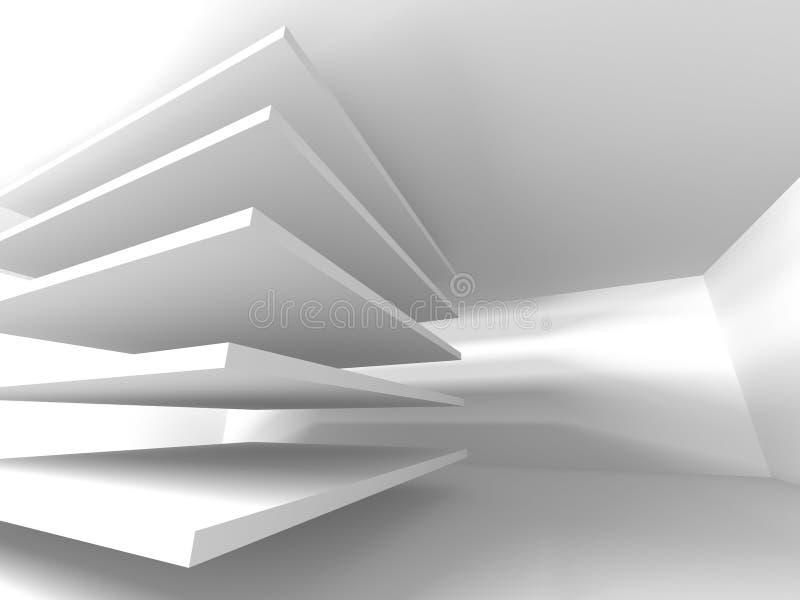 Abstrakt bakgrund för modern design för arkitektur arkivbilder