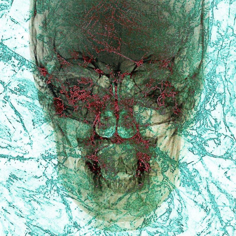 Abstrakt bakgrund för patogen arkivbild