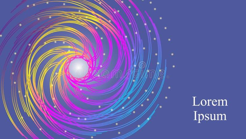 Abstrakt bakgrund för Synthwave vaporwave, stor design för några avsikter retro bakgrund för 80-tal Färgrik Wallpaper Vetenskapsa royaltyfri illustrationer