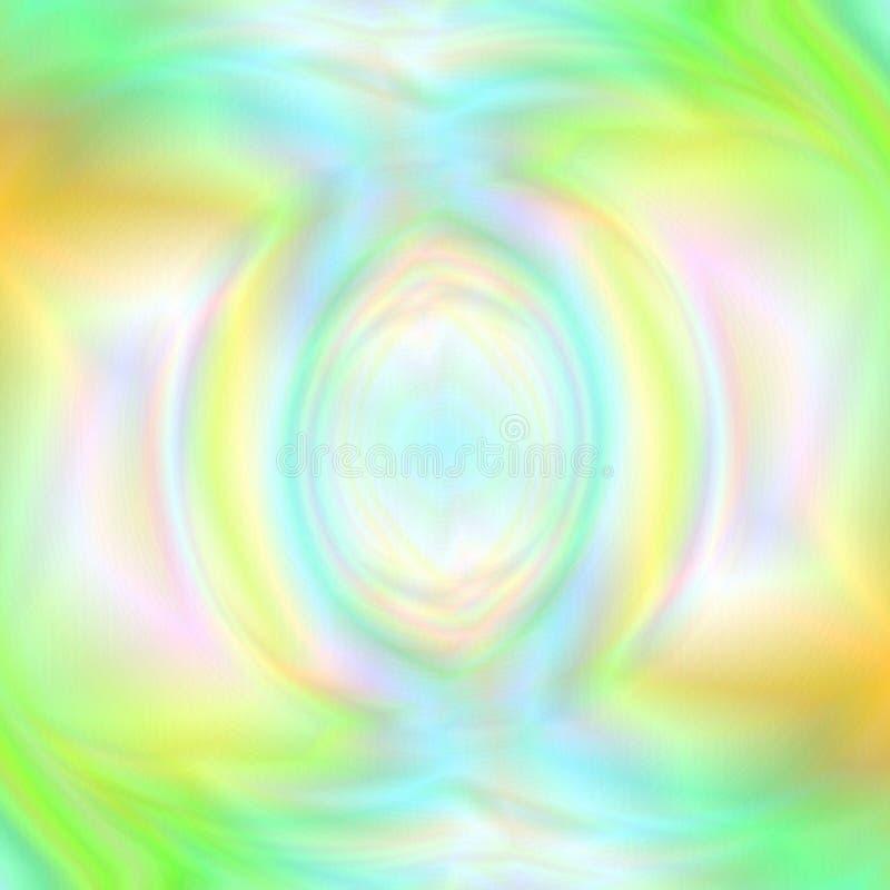 Abstrakt bakgrund för universal med realistisk Holographic effekt vektor illustrationer