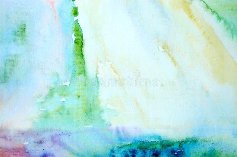 Abstrakt bakgrund för vattenfärg fotografering för bildbyråer