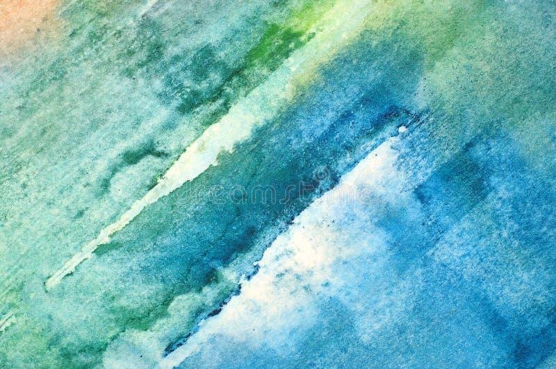 Abstrakt bakgrund för vattenfärg royaltyfri fotografi