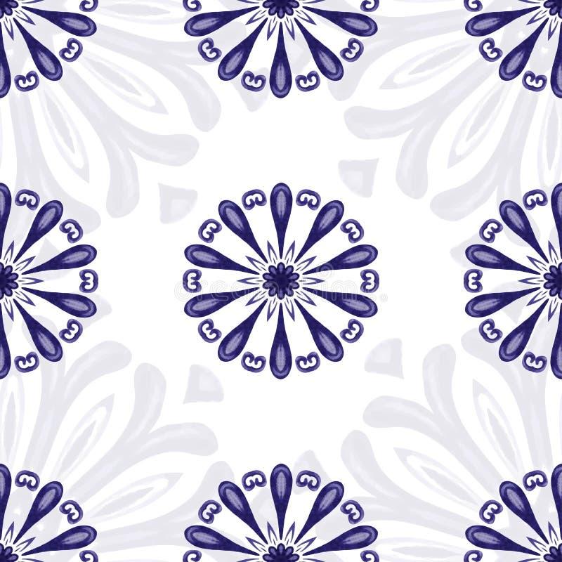 Abstrakt bakgrund för vektor med färgrika beståndsdelar Dekorativ se vektor illustrationer