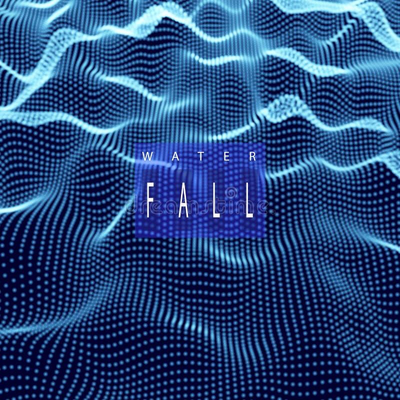 Abstrakt bakgrund f?r temadesign f?r vetenskap eller f?r elektronisk musik vektor illustrationer