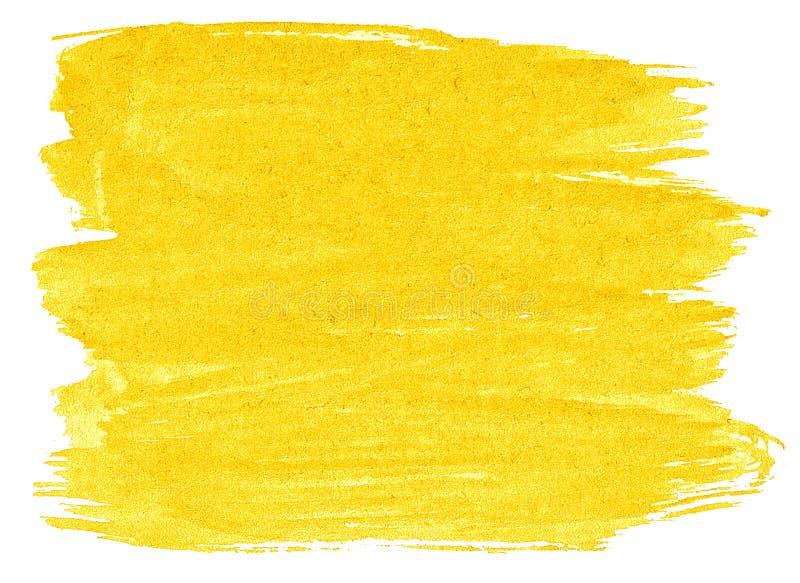 Abstrakt bakgrund f?r vibrerande gul vattenf?rg, fl?ck, f?rgst?nkm?larf?rg, fl?ck, skilsm?ssa Tappningm?lningar f?r design och ga stock illustrationer