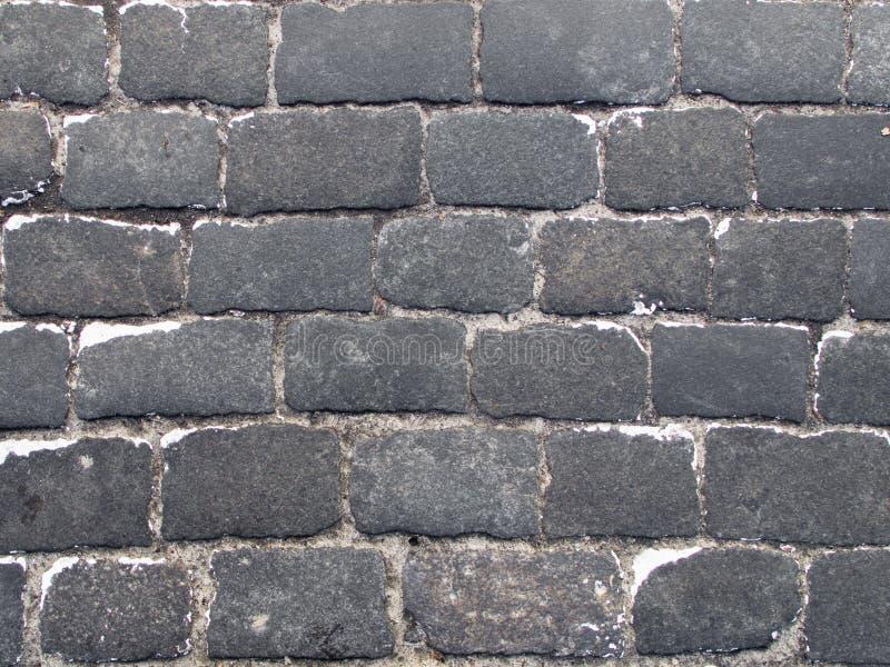 Abstrakt bakgrund från gammal trottoar som är bästa ner sikt royaltyfri bild