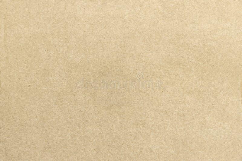 Abstrakt bakgrund från texturyttersida för brunt papper som är retro och royaltyfria bilder