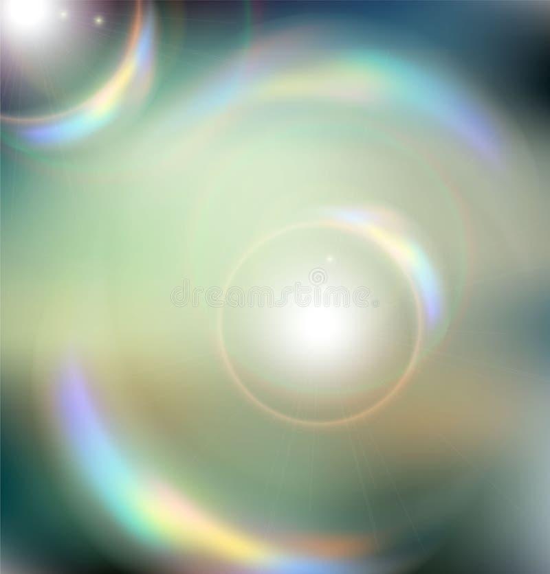 Abstrakt bakgrund, härliga strålar av ljus. royaltyfri illustrationer
