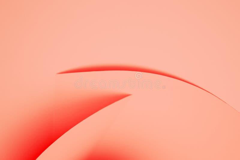 Abstrakt bakgrund, i att bo korallfärg royaltyfria foton