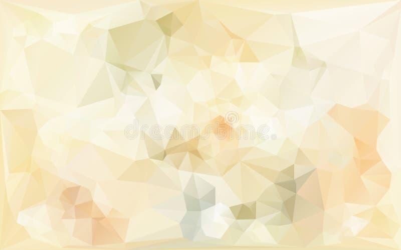 Abstrakt bakgrund i beigea signaler stock illustrationer