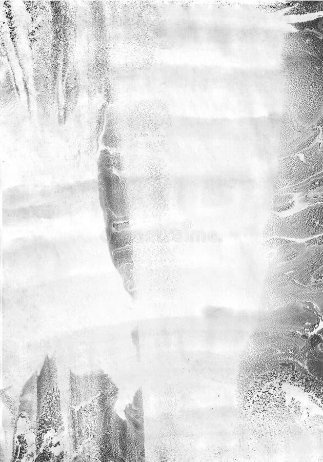 Abstrakt bakgrund i teknikerna av vattenfärgen och turkebruen vektor illustrationer