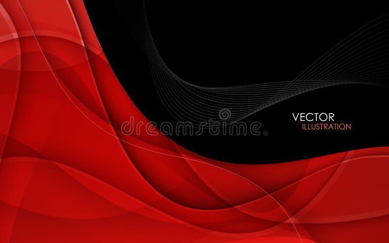 abstrakt bakgrund lines red vektor vektor illustrationer