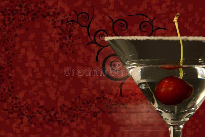 abstrakt bakgrund martini stock illustrationer