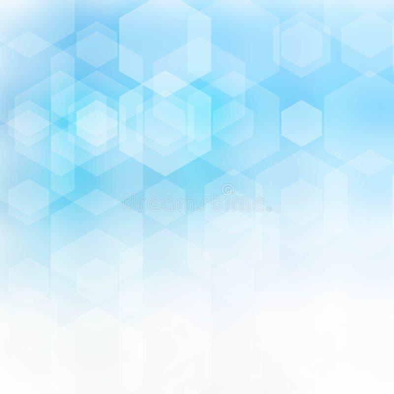 Abstrakt bakgrund med den geometriska modellen Illustration för vektor EPS10 royaltyfri illustrationer