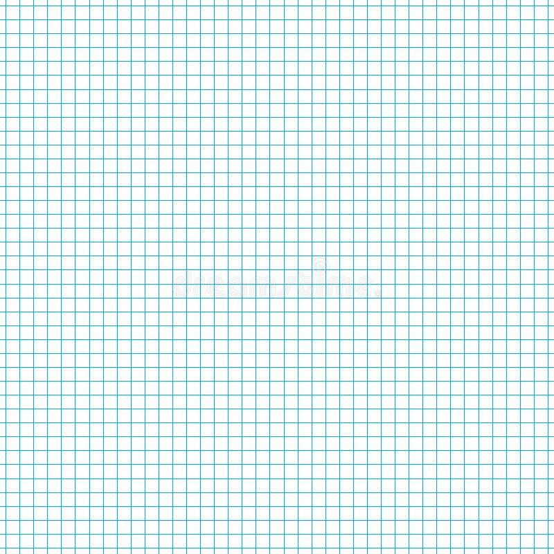 Abstrakt bakgrund med det kvadrerade pappers- arket vektor stock illustrationer