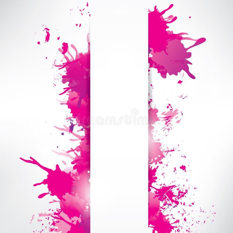 Abstrakt bakgrund med färgstänk vektor illustrationer