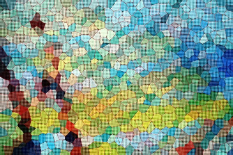 Abstrakt bakgrund med former Skämtsam design arkivbild