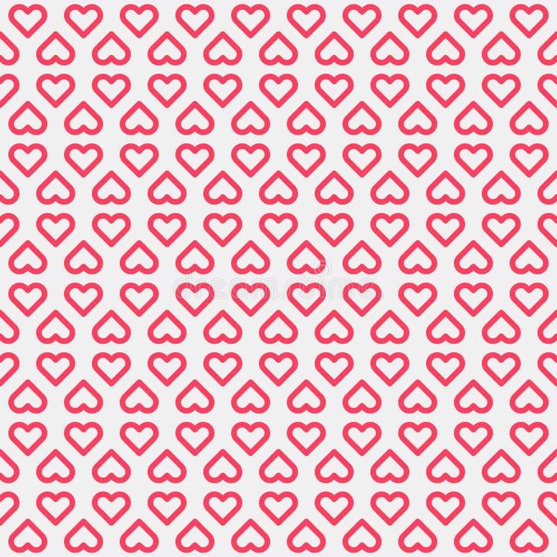Abstrakt bakgrund med hjärtatecken royaltyfri illustrationer