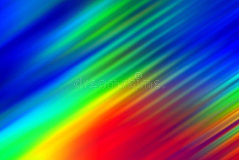 Abstrakt bakgrund med linjer och färger royaltyfri illustrationer
