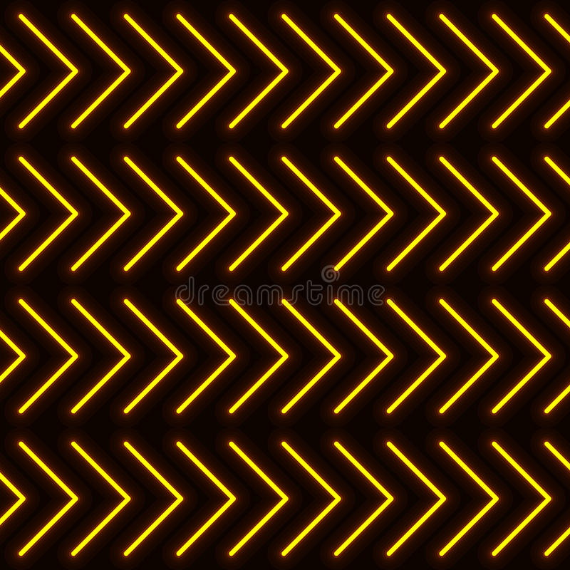 Abstrakt bakgrund med neondiagram angie royaltyfri illustrationer