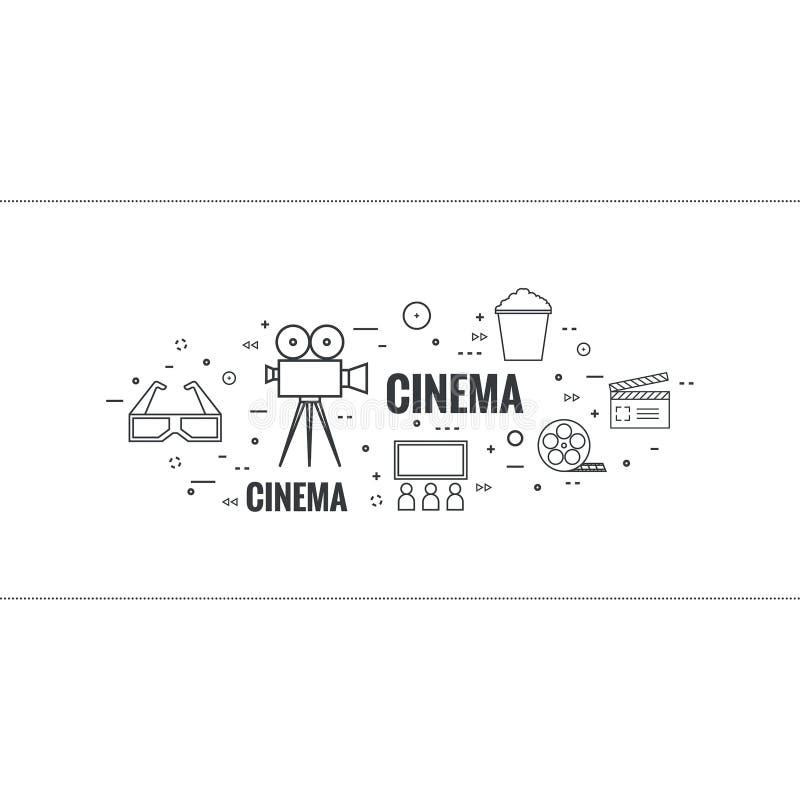 Abstrakt bakgrund med popcorn vektor illustrationer