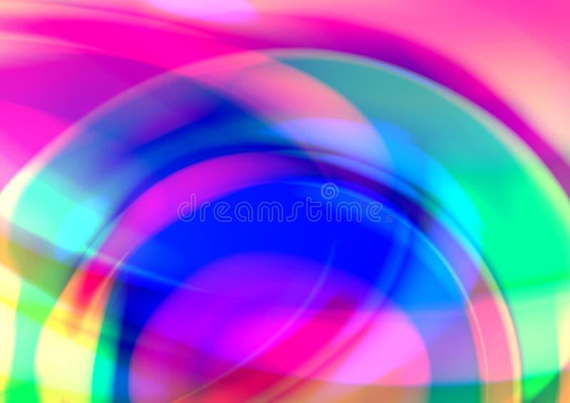 Abstrakt bakgrund med radiell lutningeffekt vektor illustrationer