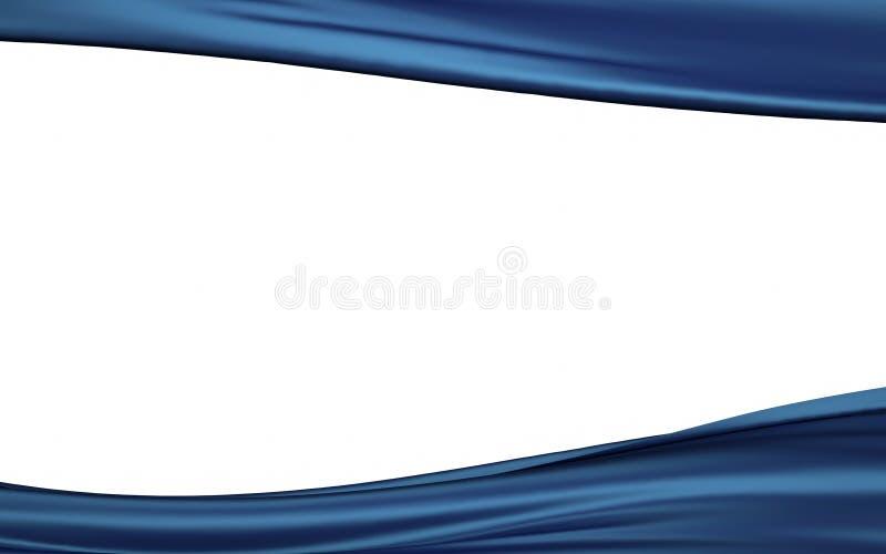 Abstrakt bakgrund med skinande vågor vektor illustrationer