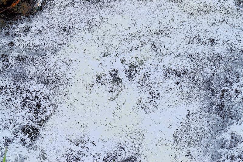 Abstrakt bakgrund - ojämna vitformer med svart och Grey Hues - flöde av vatten stock illustrationer