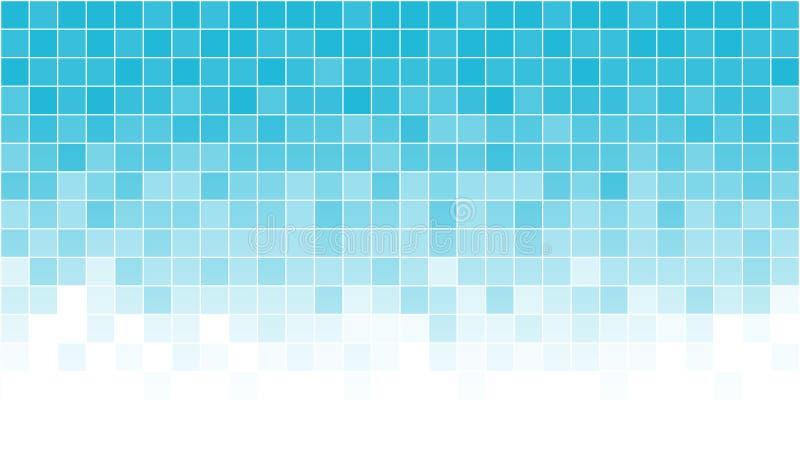 Abstrakt bakgrund, PIXELbakgrund, mosaik vektor illustrationer