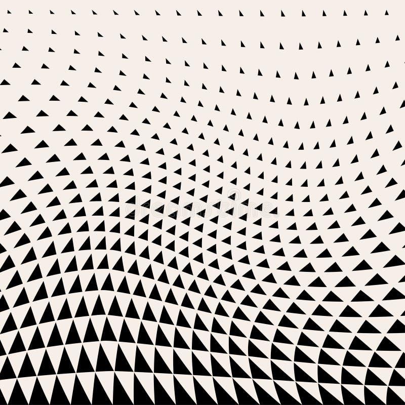 abstrakt bakgrund planlägg geometriskt Rastrerad modell för abstrakt geometrisk triangeldesign stock illustrationer