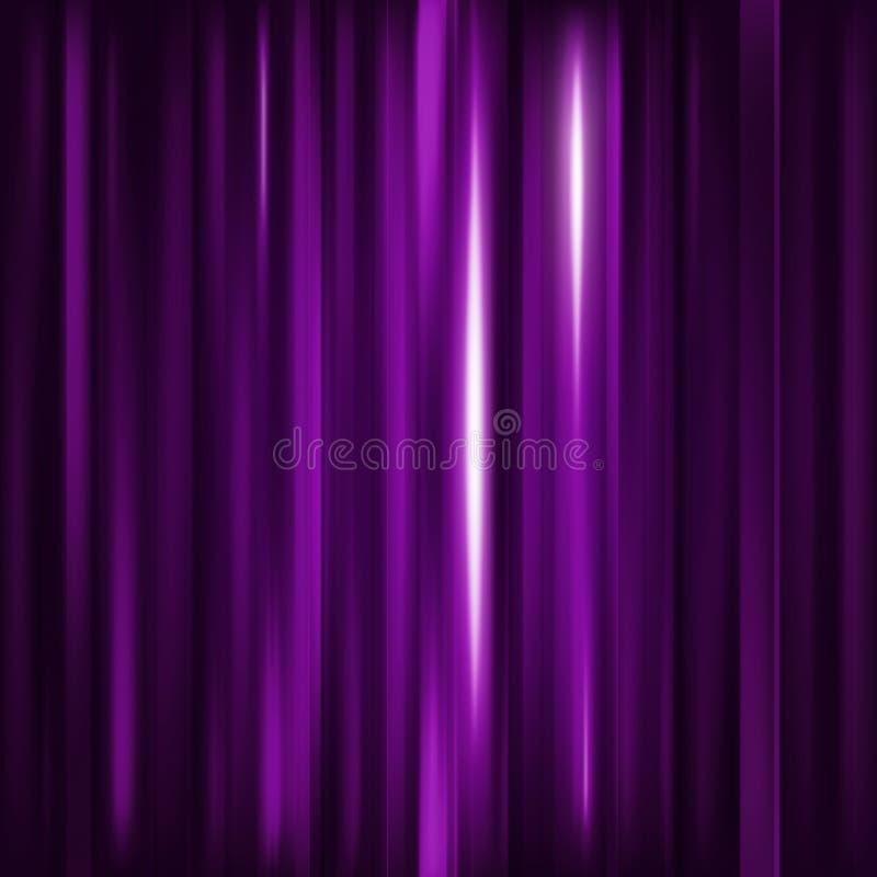 abstrakt bakgrund Purpurfärgade vertikala linjer för rörelse Vektortechno vektor illustrationer