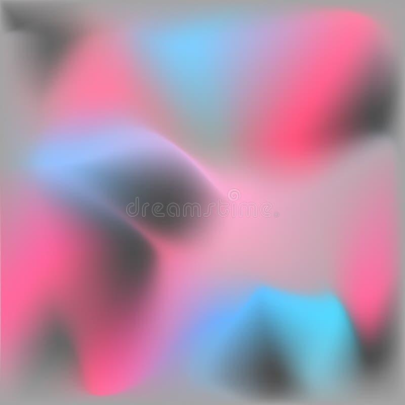 abstrakt bakgrund Rosa grått, blått stock illustrationer
