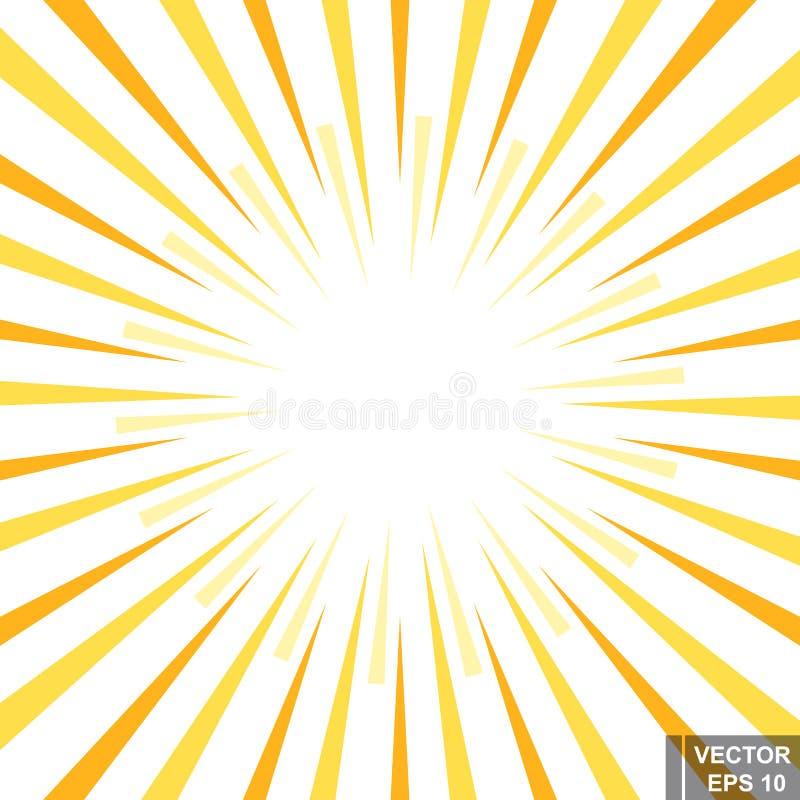 abstrakt bakgrund Strålarna shine _ brigham planlägg ditt stock illustrationer