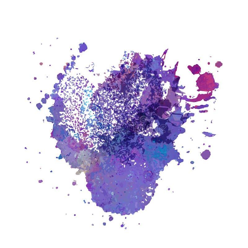 abstrakt bakgrund tecknad handvattenfärg vektor illustrationer
