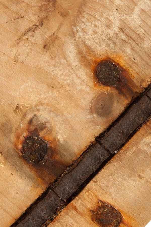 Abstrakt bakgrund texturerar - trä, rostar, knyter och förser med gångjärn! royaltyfria bilder