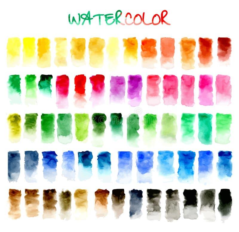 abstrakt bakgrund Vattenfärg royaltyfri illustrationer