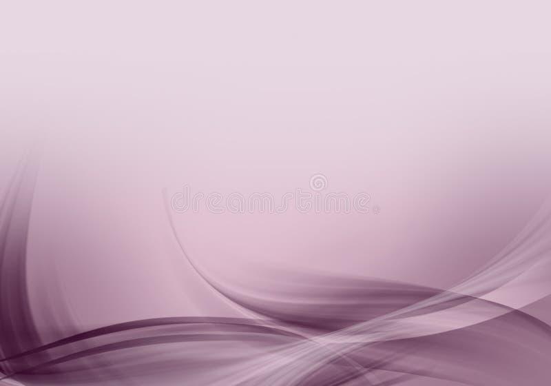 Abstrakt bakgrund vinkar med utrymme vektor illustrationer