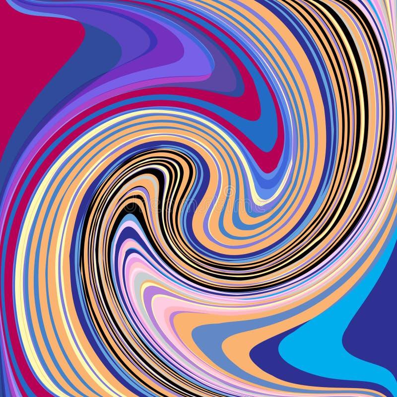 abstrakt bakgrund whirly arkivbild