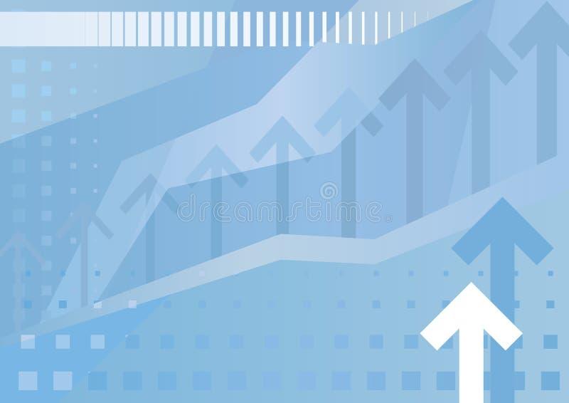 abstrakt bakgrundsaffärsillustration stock illustrationer