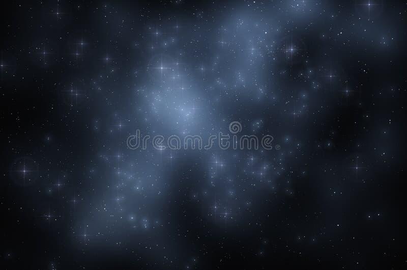 abstrakt bakgrundsavståndsstjärnor royaltyfri bild