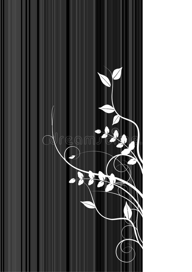 abstrakt bakgrundsbanerred royaltyfri illustrationer