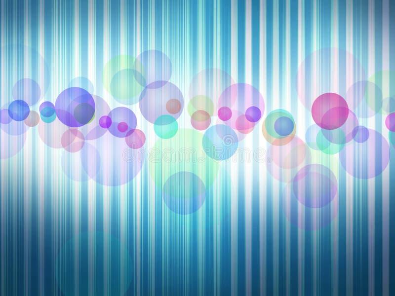abstrakt bakgrundsblue royaltyfri illustrationer