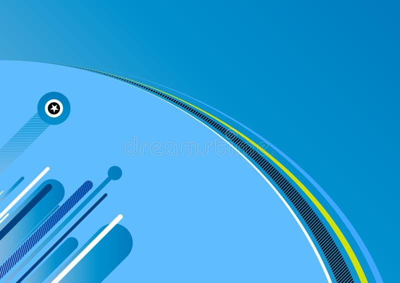 abstrakt bakgrundsblue vektor illustrationer