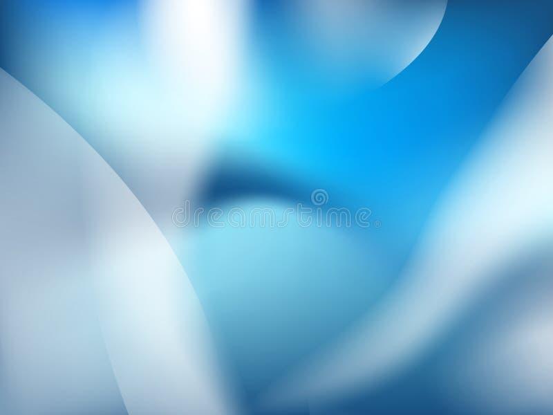abstrakt bakgrundsblue + EPS10 royaltyfri illustrationer