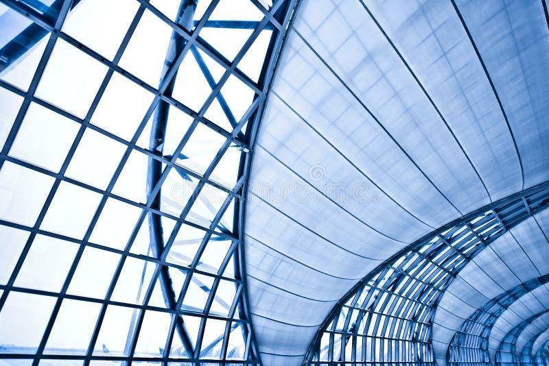 abstrakt bakgrundsblueinnervägg fotografering för bildbyråer