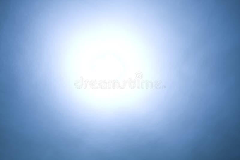 abstrakt bakgrundsbluelampa royaltyfri illustrationer