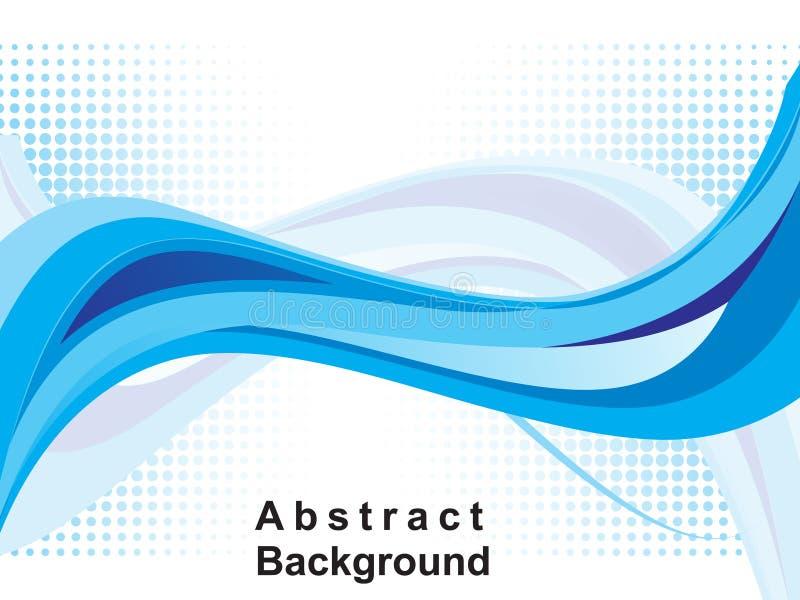 abstrakt bakgrundsbluerengöringsduk royaltyfri illustrationer