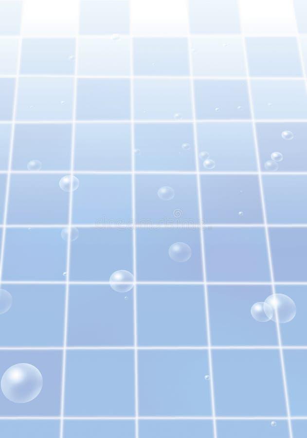 abstrakt bakgrundsbluetegelplatta vektor illustrationer