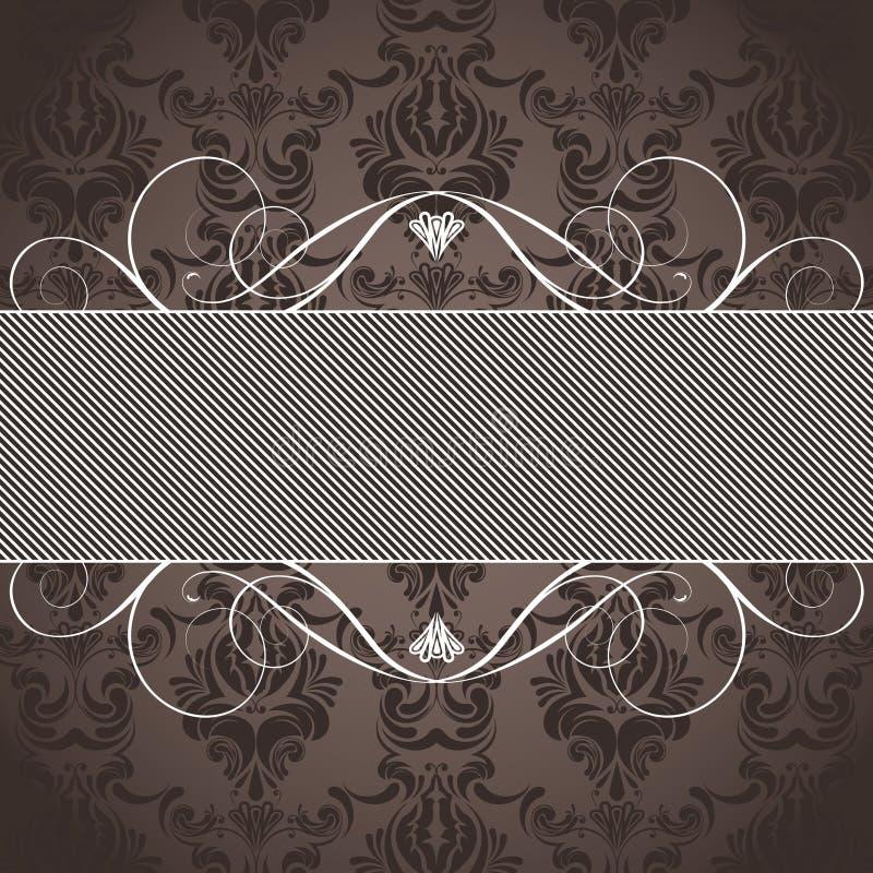 abstrakt bakgrundsbrown lines bilden vektor illustrationer